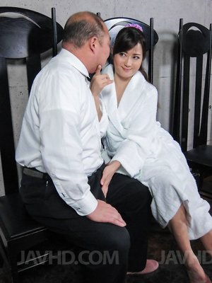 Asian Teen and Oldman Pictures